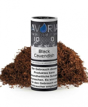 Avoria BLACK CAVENDISH Tabak E-Liquid 10ml