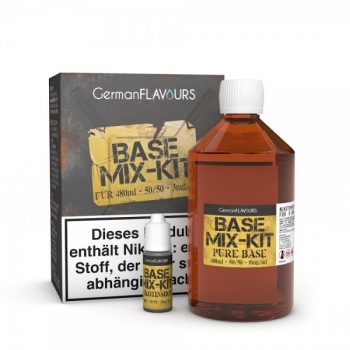 GermanFlavours Mix Kit 50/50 für 480ml Base mit 3mg Nikotin