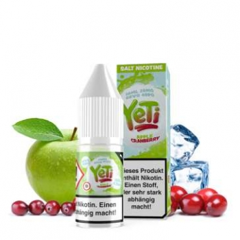 YETI Nic Salt Apple Cranberry Nikotinsalz Liquid 20mg