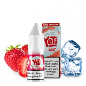 YETI Nic Salt Strawberry Nikotinsalz Liquid 20mg